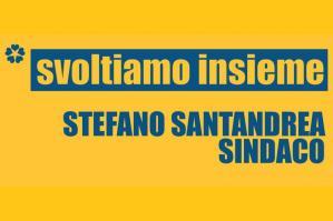 """[""""Svoltiamo Insieme - Per Stefano Santandrea Sindaco"""": al via la campagna di comunicazione]"""