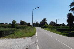 [San Michele, nuova pista ciclopedonale da Pozzi a San Mauro]