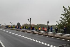 [San Michele, raccolte 600 firme alla manifestazione per la sicurezza idraulica del Tagliamento]