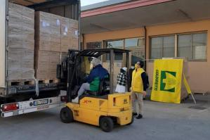 [Gli agricoltori di Coldiretti donano 20mila kg di pasta 'Made in Italy'  alle mense dei poveri del Veneto]