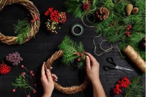 [Dal Bosco di Alvisopoli nuove idee per le decorazioni natalizie]