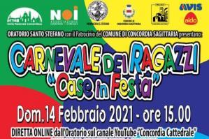 """[""""Case in festa"""" per il Carnevale a Concordia]"""