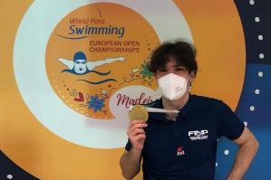 [Antonio Fantin inarrestabile: nuovo primato ai Campionati europei Para Swimming]