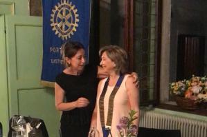 [Nilla Verzolatto nuova presidente del Rotary Club Portogruaro]