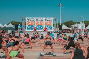 [A Bibione torna la più grande convention italiana di fitness all'aperto]