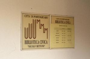"""[La biblioteca civica cambia nome e sarà intitolata """"Vespasiano""""]"""
